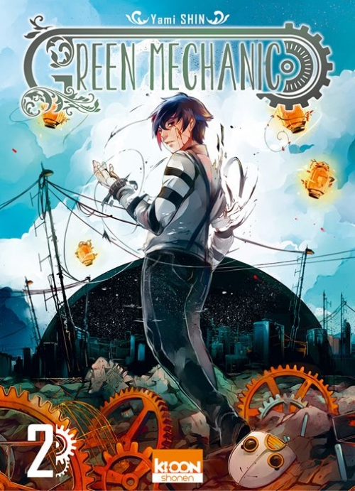 Couverture Green Mechanic, tome 2