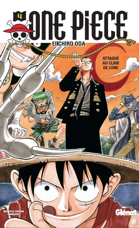 Couverture One Piece, tome 04 : Un chemin en pente raide