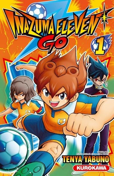 Couverture Inazuma Eleven Go, tome 1