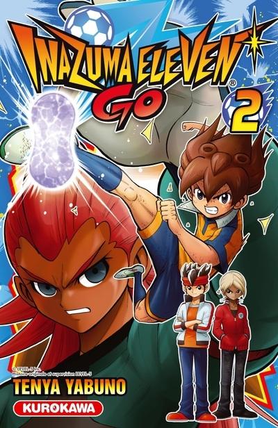 Couverture Inazuma Eleven Go, tome 2