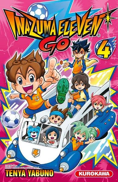 Couverture Inazuma Eleven Go, tome 4
