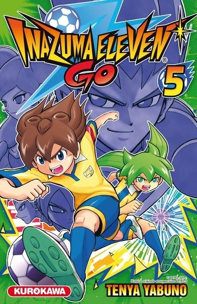 Couverture Inazuma Eleven Go, tome 5