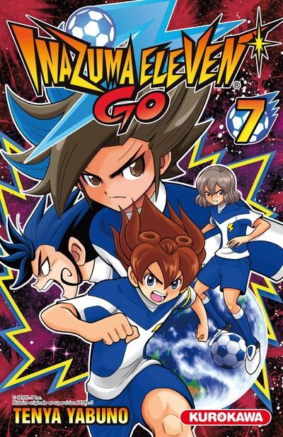 Couverture Inazuma Eleven Go, tome 7