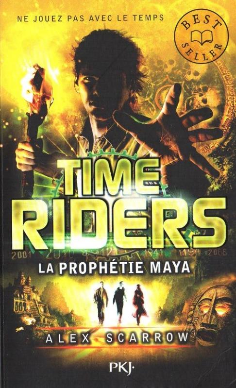 Couverture Time riders, tome 8 : La prophétie maya