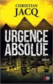 Couverture Urgence absolue Editions XO (Thriller) 2017