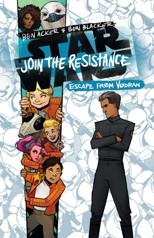 Star Wars Join The Resistance Book 2 Escape From Vodran