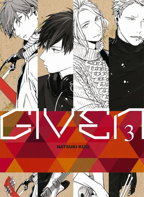 Couverture Given, tome 3