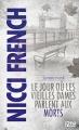 Couverture Frieda Klein, tome 2 : Sombre Mardi : Le jour où les vieilles dames parlent aux morts Editions 12-21 2013