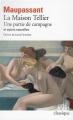 Couverture La maison Tellier, Une partie de campagne et autres nouvelles Editions Folio  (Classique) 2016