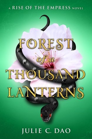 Couverture Rise of the Empress, book 1: Forest of a Thousand Lanterns