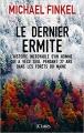Couverture Le dernier ermite Editions JC Lattès (Essais et documents) 2017