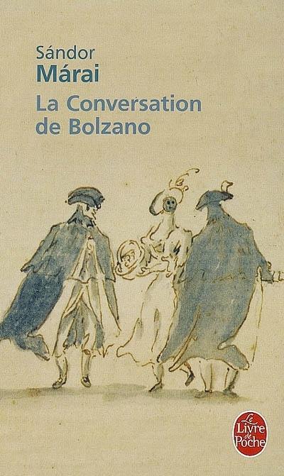 Couverture La conversation de Bolzano