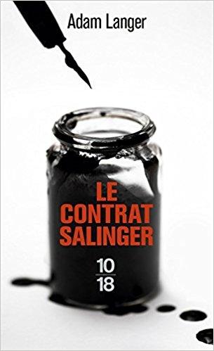 Couverture Le contrat Salinger