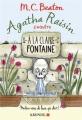 Couverture Agatha Raisin enquête, tome 07 : À la claire fontaine Editions Albin Michel 2017