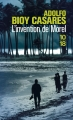Couverture L'invention de Morel Editions 10/18 2017