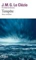 Couverture Tempête : Deux novellas Editions Folio  2017