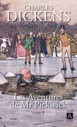 Couverture M. Pickwick : Les Archives posthumes du Pickwick-club, tome 2