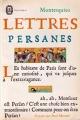 Couverture Lettres persanes Editions Le Livre de Poche (Classique) 1966