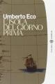 Couverture L'île du jour d'avant Editions Bompiani 1996