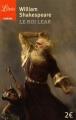 Couverture Le Roi Lear Editions Librio (Théâtre) 2016