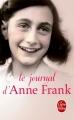 Couverture Le journal d'Anne Frank Editions Le Livre de Poche 2017