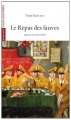 Couverture Le repas des fauves Editions L'Avant-scène théâtre (Quatre-vents) 2014