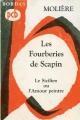 Couverture Les Fourberies de Scapin Editions Bordas (Classiques) 1968