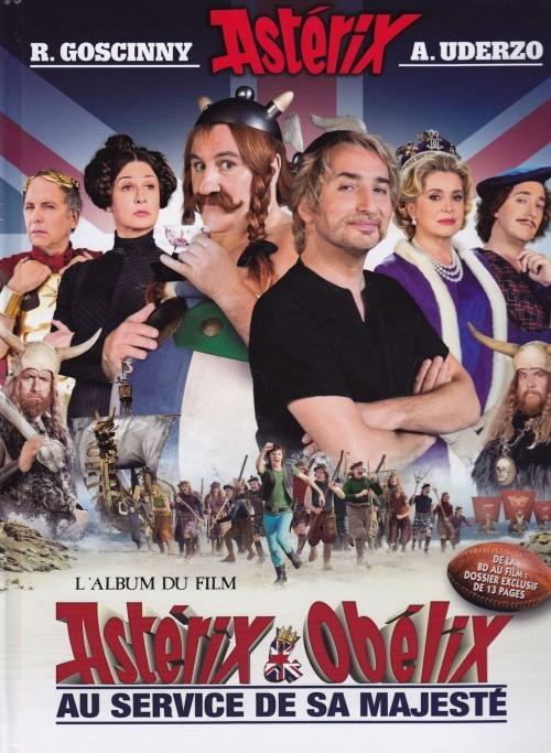 Couverture Astérix & Obélix au service de sa majesté : L'album du film