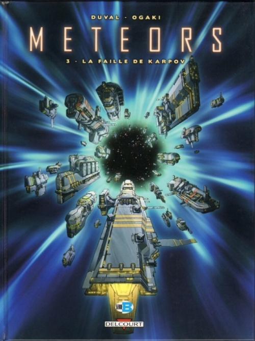 Couverture Meteors, tome 3 : La faille de Karpov