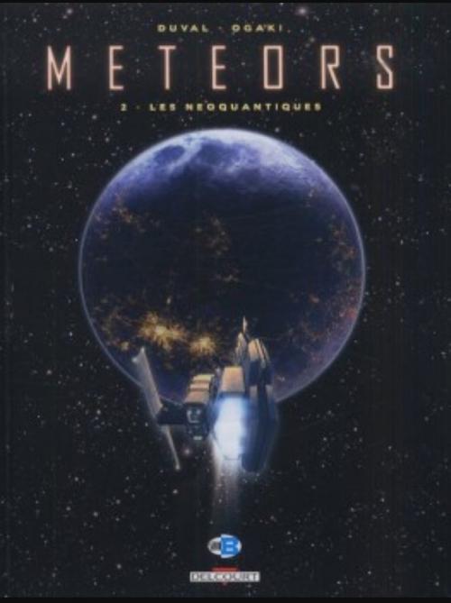 Couverture Meteors, tome 2 : Les néoquantiques