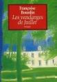 Couverture Les vendanges de juillet Editions France Loisirs 2015