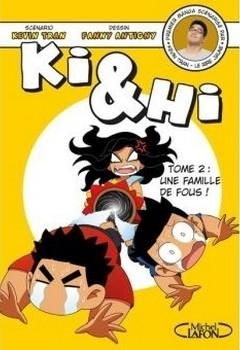 Couverture Ki & Hi, tome 2 : Une famille de fous !