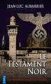 Couverture Le testament noir Editions City (Poche) 2017