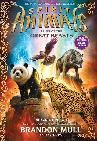 Couverture Spirit Animals: Tales of the great beasts