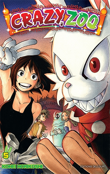 Couverture Crazy zoo, tome 5