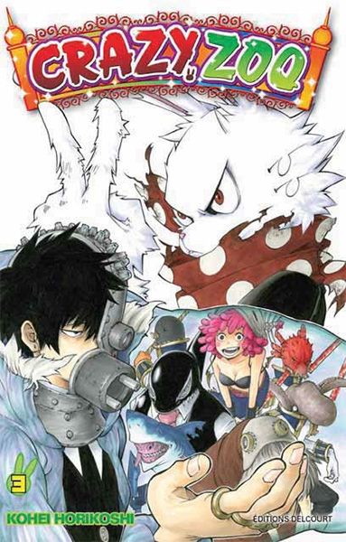 Couverture Crazy zoo, tome 3