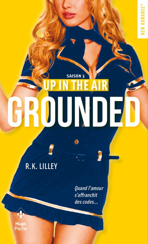 Couverture En l'air / Up in the air, tome 3 : Grounded