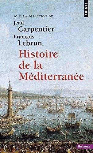 Couverture Histoire de la Méditerranée