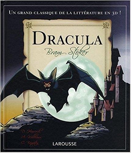 Couverture Dracula, popup