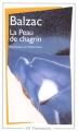 Couverture La peau de chagrin Editions Flammarion (GF) 2013