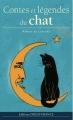 Couverture Contes et légendes du chat Editions Ouest-France 2015