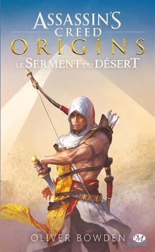 Couverture Assassin's creed, tome 9 :  Origins, Le serment du désert