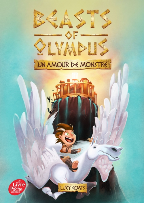 Couverture Beasts of Olympus, tome 1 : Un amour de monstre