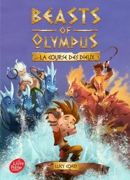 Couverture Beast of Olympus, tome 3 : La course des dieux
