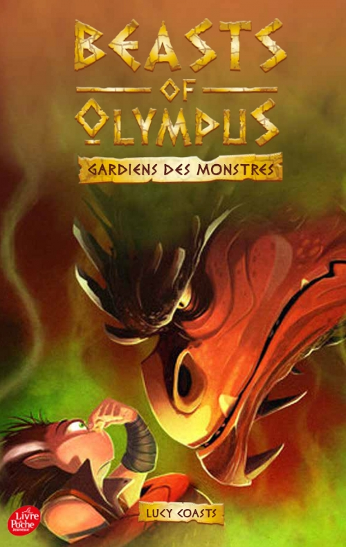 Couverture Beasts of Olympus, tome 4 : Le dragon qui pue