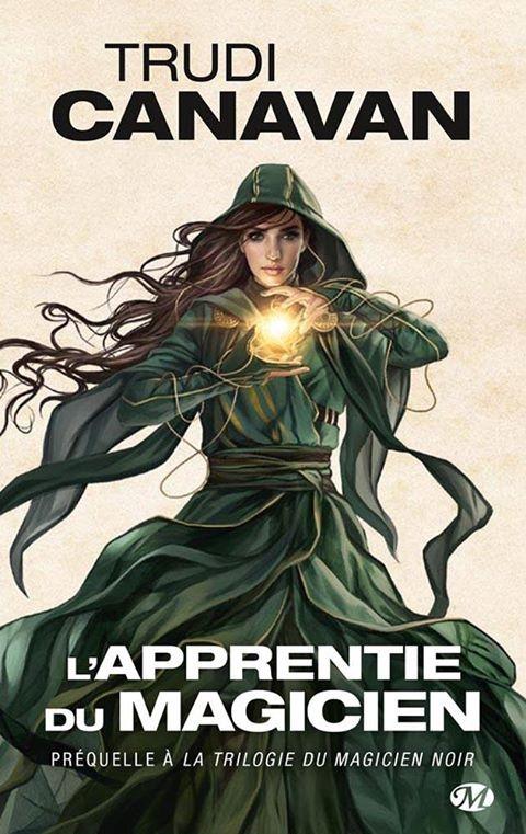 Couverture La trilogie du magicien noir, tome 0 : L'apprentie du magicien
