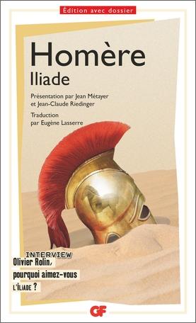 Couverture L'Iliade / Iliade