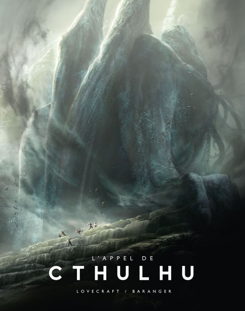 Couverture L'appel de Cthulhu, illustré
