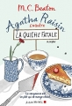 Couverture Agatha Raisin enquête, tome 01 : La quiche fatale Editions Albin Michel 2016