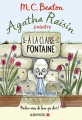 Couverture Agatha Raisin enquête, tome 07 : A la claire fontaine Editions Albin Michel 2017